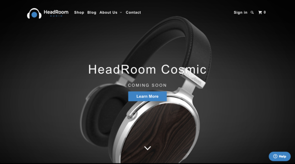 HeadRoom Audio Gets a New Website – and A Cosmic Surprise!