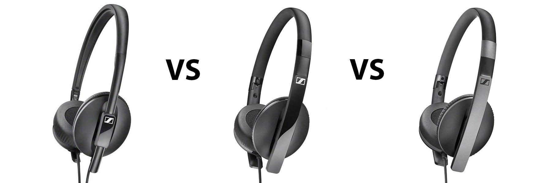 Sennheiser HD 2.10 vs HD 2.20 vs HD 2.30 Comparison Review
