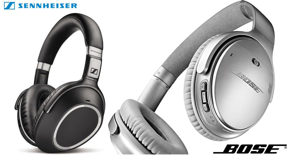 Sennheiser PXC 550 vs. Bose QuietComfort 35 – Headphone Comparison