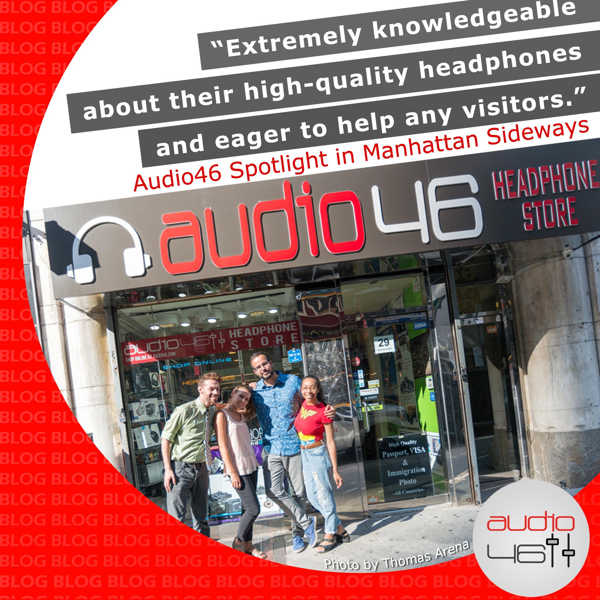 Audio46 Spotlight in Manhattan Sideways
