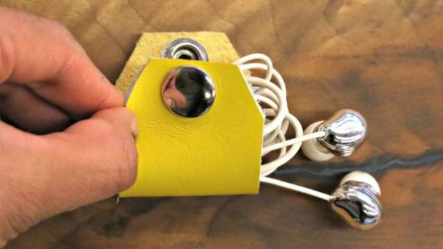 Keep Earbud Cables Tidy with this DIY Organizer