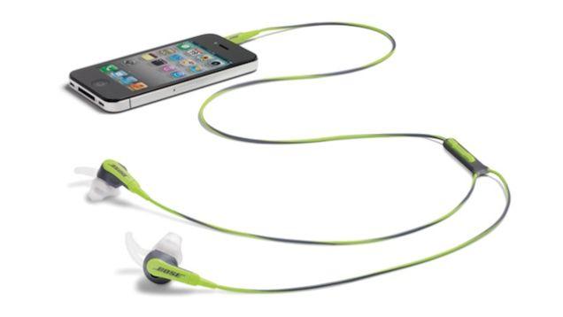 Most Popular Exercise Headphones: Bose IE2/MIE2/SIE2 In-Ear Headphones
