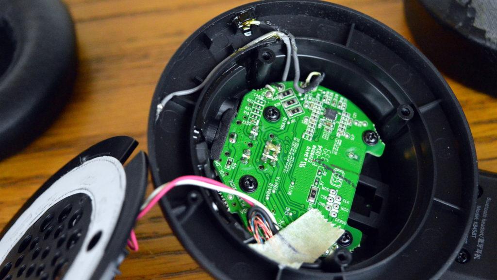 Inside Headphones Chip 1