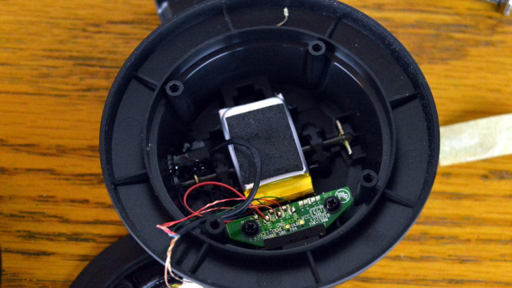 Inside Headphones Battery