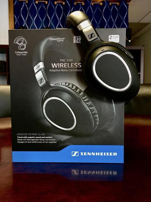 Sennheiser PXC 550 Review. Best Wireless Noise-Cancelling Headphones?