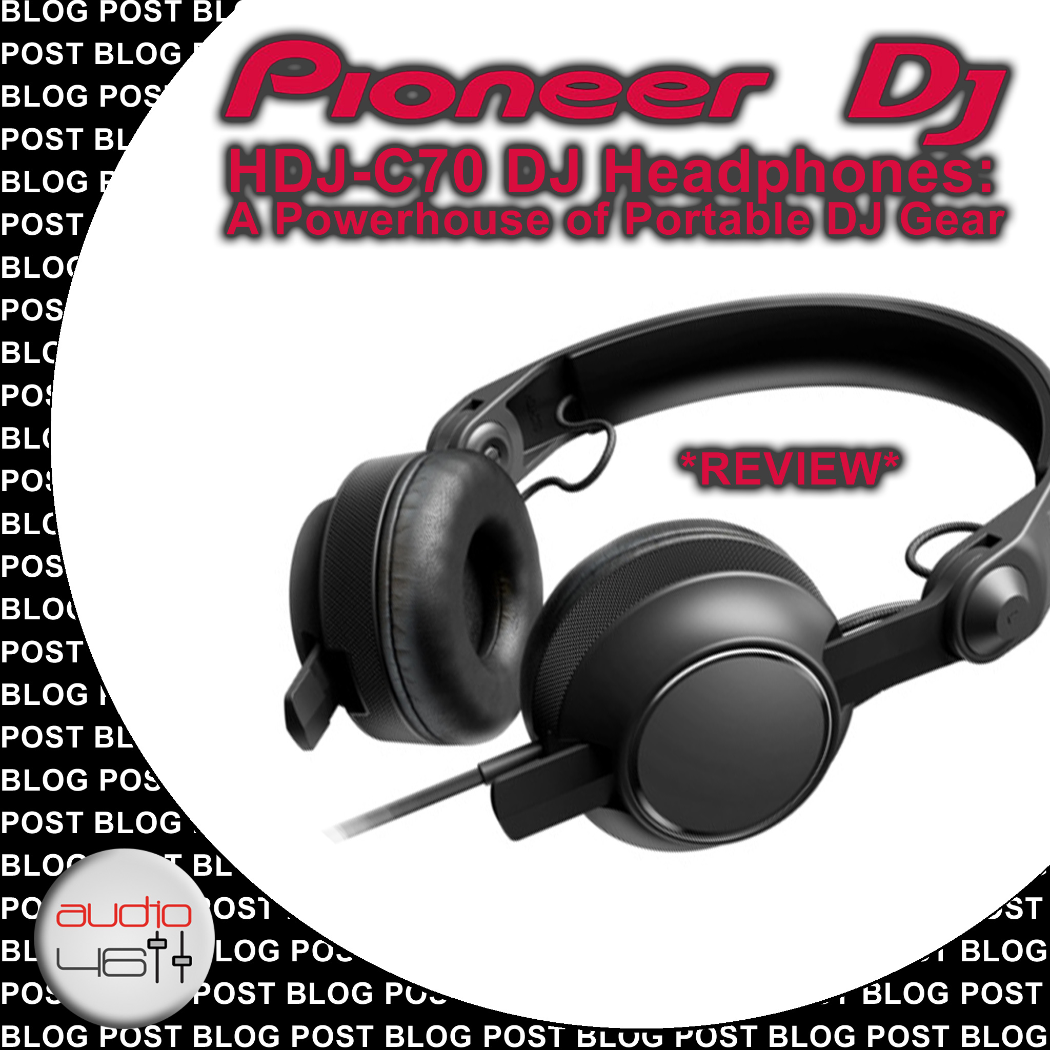 Pioneer HDJ-C70 DJ Headphones: A Powerhouse of Portable DJ Gear