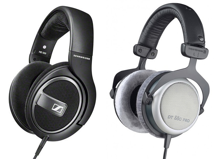 Sennheiser HD 559 vs Beyerdynamic DT 880 Pro Headphone Comparison