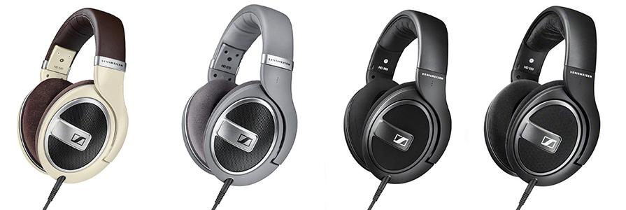 Sennheiser HD 5 Series Headphone Comparison
