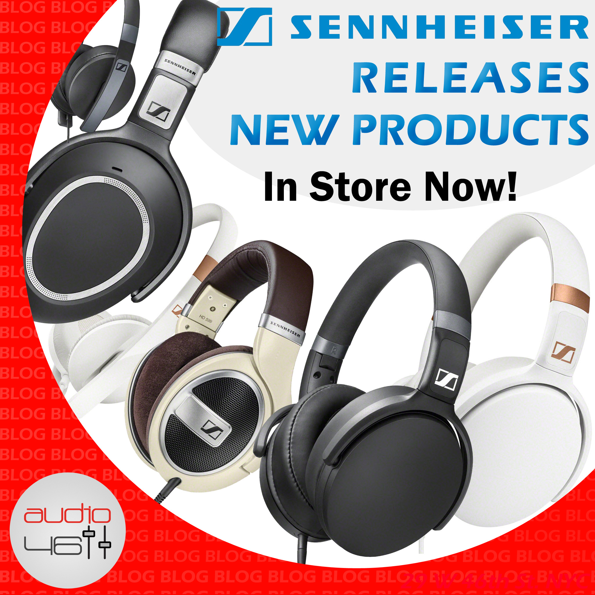Sennheiser Releases a NEW line and its in store