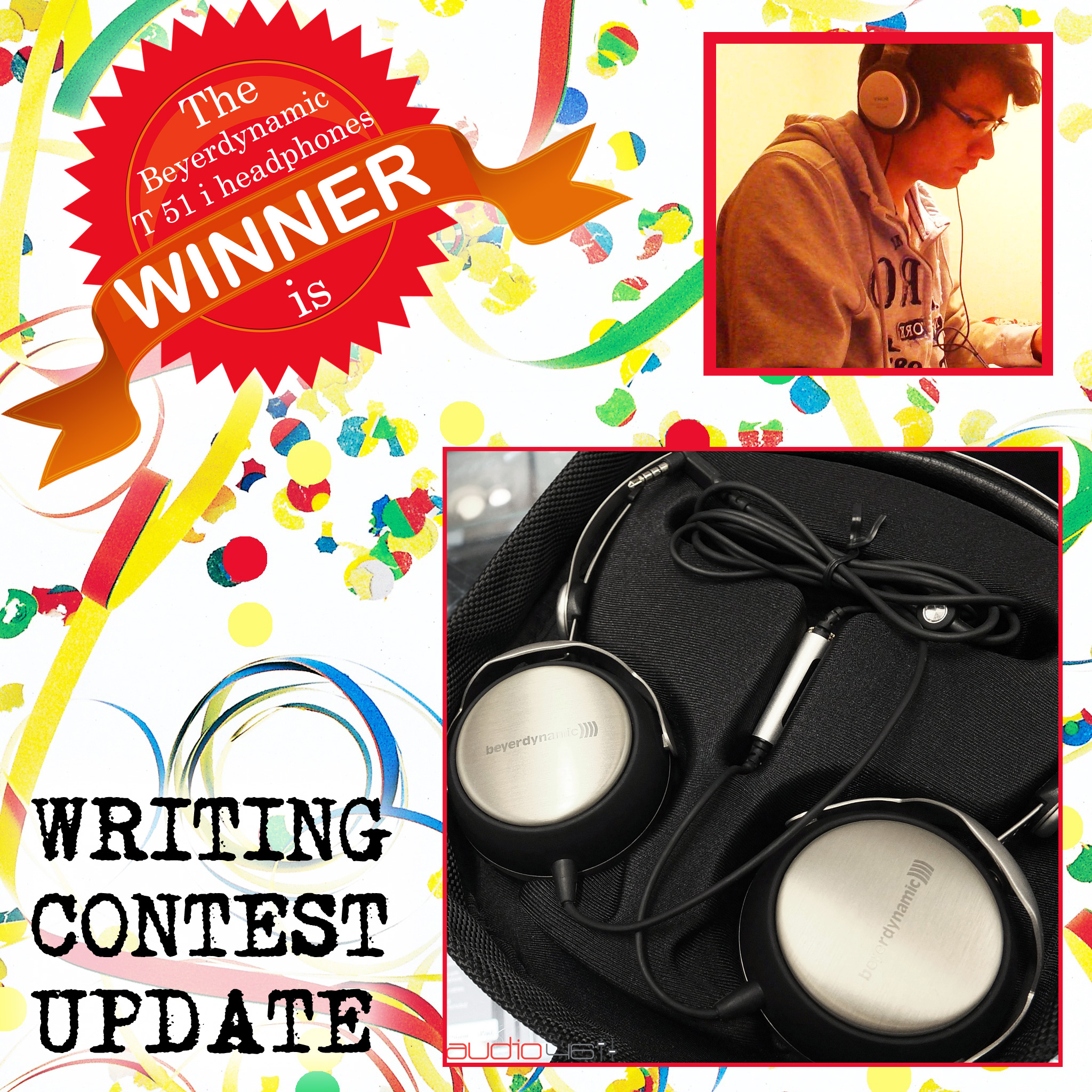 Audio46 Announces Our Headphone Giveaway Winner