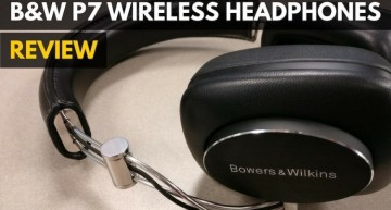 Bowers & Wilkins P7 Wireless Headphones Review 2016